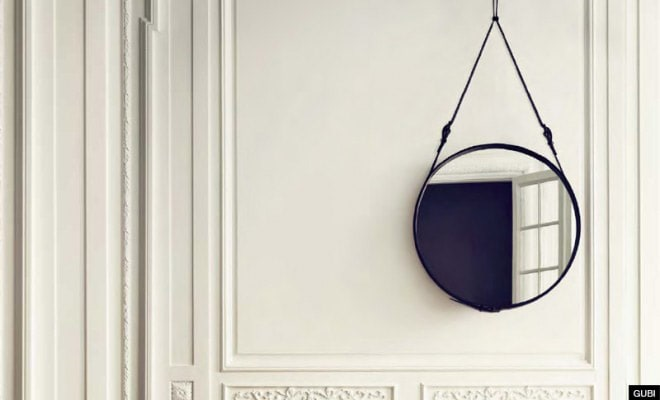 Styling: The Adnet Circulaire Mirror. - Ventura Homes