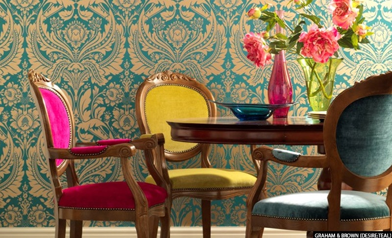Wallpaper Design Inspiration for your New Home