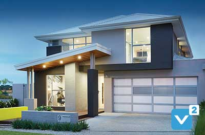 two storey display homes
