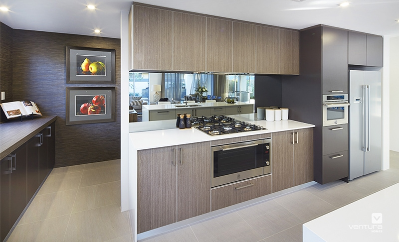 What makes an award winning kitchen live better very for Display home kitchens