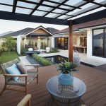 Display Home landscaping