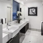 Display Home ensuite bathroom design