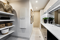 casa bianca laundry room and scullery