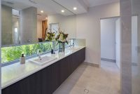 the davenport master bathroom