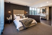 the signature master bedroom
