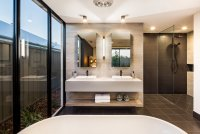 the signature bathtub and sinks