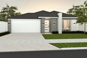 The Rosberg elevation by Ventura Homes